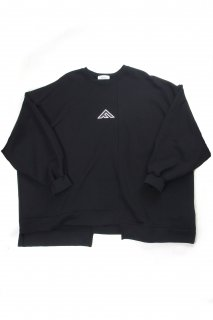【Fenomeno-フェノメノ】  momonga long sleeve sweat BLK
