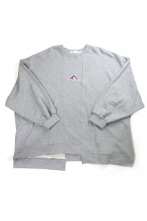 【Fenomeno-フェノメノ】</br>  momonga long sleeve sweat GRY