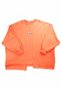 【Fenomeno-フェノメノ】</br>  momonga long sleeve sweat NEON ORG