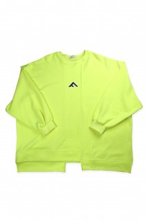 【Fenomeno-フェノメノ】  momonga long sleeve sweat NEON YEL