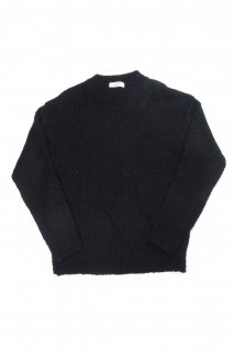 【Fenomeno-フェノメノ】  Curl yarn PO knit BLK