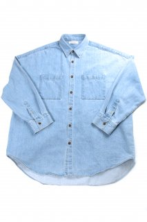【Fenomeno-フェノメノ】<br>  Heavy oz denim shirt