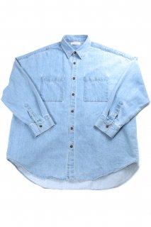 【Fenomeno-フェノメノ】<br>  Heavy oz denim shirt