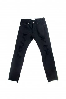 【Fenomeno フェノメノ】</br>Crash skinny BLK