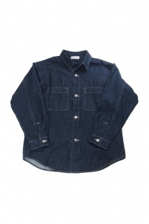 【Fenomeno-フェノメノ】 <br>Denim work shirts