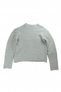 【Fenomeno-フェノメノ】  <br>Curl yarn knit GRY