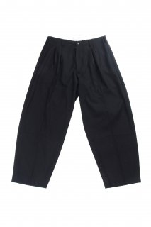 【Fenomeno フェノメノ】</br>Uncle slacks pants BLK