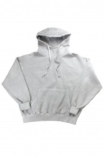 【Fenomeno-フェノメノ】<br>  Pigment High neck hoodie GRY<br>