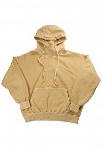 【Fenomeno-フェノメノ】<br>  Pigment High neck hoodie YEL<br>