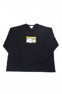 "【Fenomeno-フェノメノ】</br>""HEBI"" long sleeve tshirt BLK</br>"