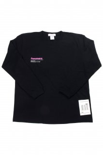 "【Fenomeno-フェノメノ】</br>   ""Barcode"" long sleeve shirt BLK</br>"