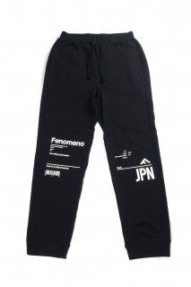 【Fenomeno フェノメノ】</br>JPN Set up sweat pants BLK
