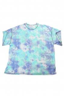 【Fenomeno-フェノメノ】</br>   Tie dye Tshirt tie-dye BLU</br>