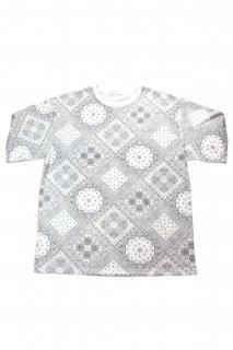 【Fenomeno-フェノメノ】</br>   Paisley Tshirt WHT</br>