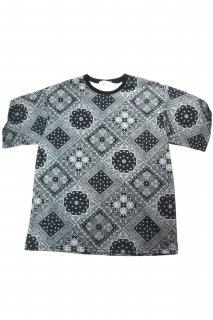 【Fenomeno-フェノメノ】</br>   Paisley Tshirt BLK</br>