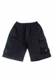 【Fenomeno フェノメノ】</br>Wide cargo shorts BLK