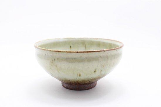 藁灰釉茶碗