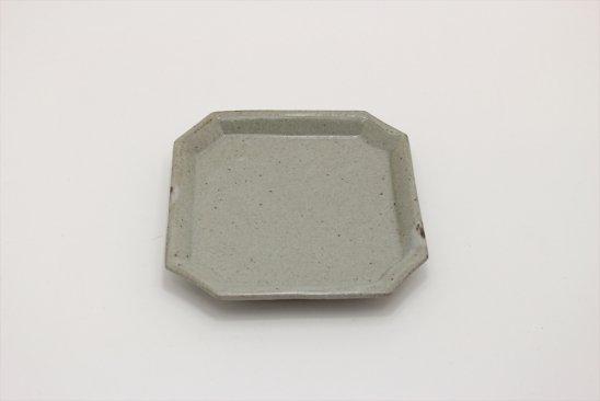 【新着】泥並釉隅入角皿