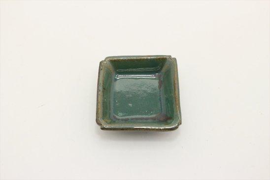 【新着】糠青磁釉豆角皿