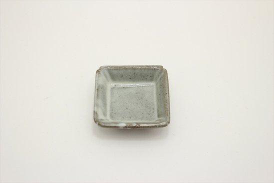 【新着】林檎灰釉豆角皿