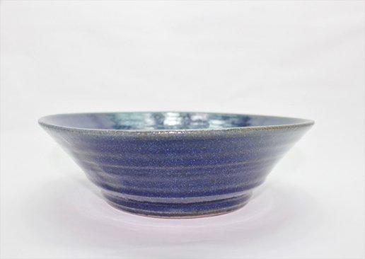 【新着】瑠璃釉6.5寸浅鉢