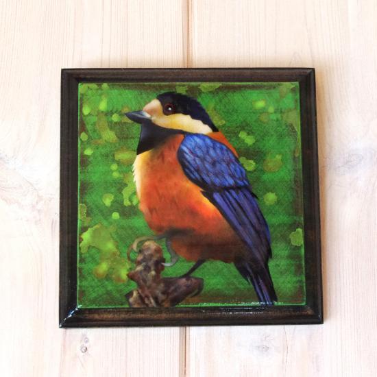 Stencil Bird003