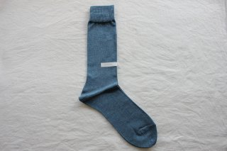 KIMURA` COTTON SOCKS   25-27cm Dutch blue