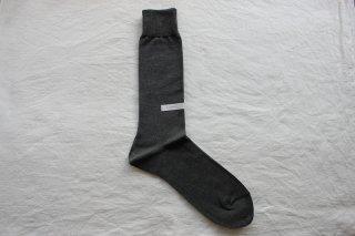 KIMURA` COTTON SOCKS  25-27cm  Graphite