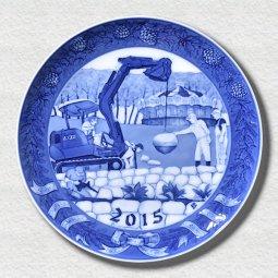 萌木の村 2015年イヤープレート「未来を描く」