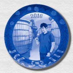 萌木の村 2016年イヤープレート「イチローズウイスキー」
