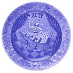 萌木の村 2017年イヤープレート「繋ぐ人たち」