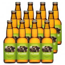 送料無料:クリアな味わいの八ヶ岳ブルワリー定番ビール「ピルスナー」12本セット