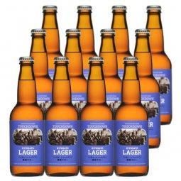 送料無料:梨北の「お米」を使った爽快なビール「清里ラガー」12本セット
