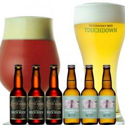 【お中元ギフト】プレミアムビール「ロック・ボック」「白樺ビート」の2種6本飲み比べ