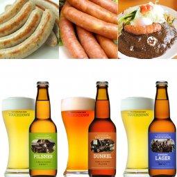 【お中元ギフト】クラフトビール3種3本&ソーセージ2種&カレー2パックの「ROCKベストワン」セット