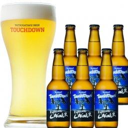 八ヶ岳ビール タッチダウン「はやぶさ2タッチダウン清里ラガー」6本