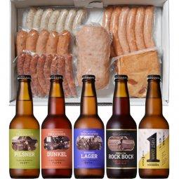「萌木の村ROCK ビールパーティーセット」 クラフトビール5種5本、ソーセージ6種
