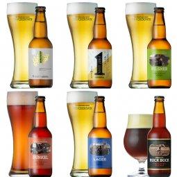 クラフトビール「八ヶ岳ビール タッチダウン」6種飲み比べ