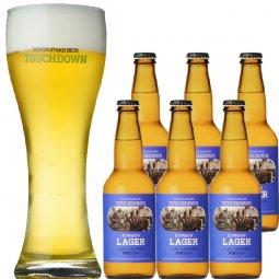 """抜群のキレで飲みやすさNo.1""""高原ビール""""「清里ラガー」6本セット"""