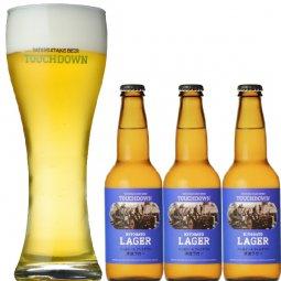 """抜群のキレで飲みやすさNo.1""""高原ビール""""「清里ラガー」3本セット"""