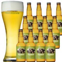 """旨味が押しよせる""""The麦芽100%ビール""""「ピルスナー」12本セット"""