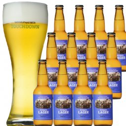 """抜群のキレで飲みやすさNo.1""""高原ビール""""「清里ラガー」12本セット"""
