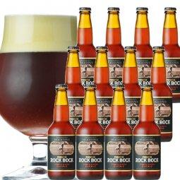 長期熟成ストロングビール「プレミア ム ロック・ボック」12本セット