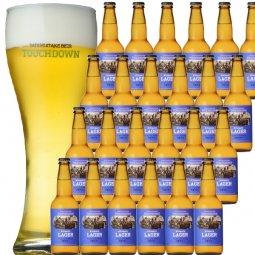 """抜群のキレで飲みやすさNo.1""""高原ビール""""「清里ラガー」24本セット"""