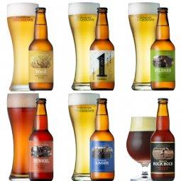 クラフトビール「八ヶ岳ビール タッチダウン」6種6本飲み比べ