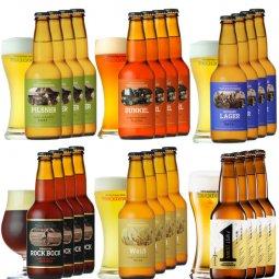 クラフトビール「八ヶ岳ビール タッチダウン」6種24本飲み比べ
