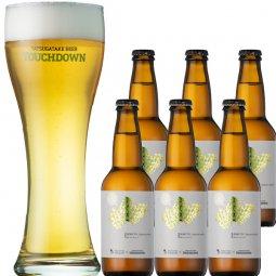 北杜産ホップ100%ビール「HOKUTO Japanese pilsner Fresh Hop Ver.1」6本