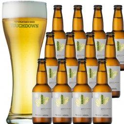 北杜産ホップ100%ビール「HOKUTO Japanese pilsner Fresh Hop Ver.1」12本