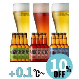 【10%OFF】八ヶ岳ビール タッチダウン3種12本「ピルスナー/デュンケル/清里ラガー」飲み比べ