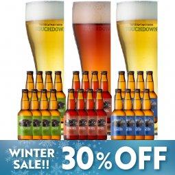 【10%OFF】八ヶ岳ビール タッチダウン3種24本「ピルスナー/デュンケル/清里ラガー」飲み比べ